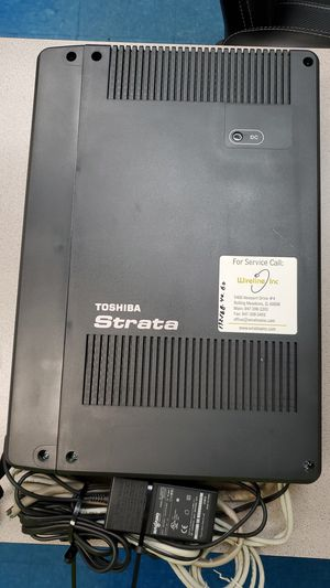 TOSHIBA COMMUNICATION SYSTEM for Sale in Chicago, IL