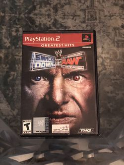 WWE Smackdown Vs Raw For PlayStation 2 for Sale in Pompano Beach,  FL