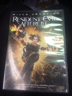 Resident Evil Afterlife DVD for Sale in Charlotte, NC