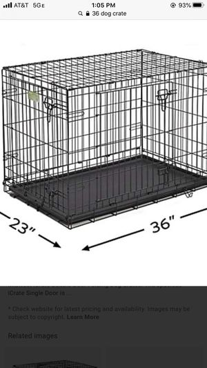 Large dog crate for Sale in Lexington, KY