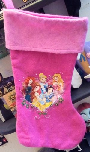 Disney Princess Holiday Christmas Stocking for Sale in Fresno, CA