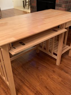 Light Brown Office/Bedroom Desk (52L X 26W X 30H) for Sale in Culver City,  CA
