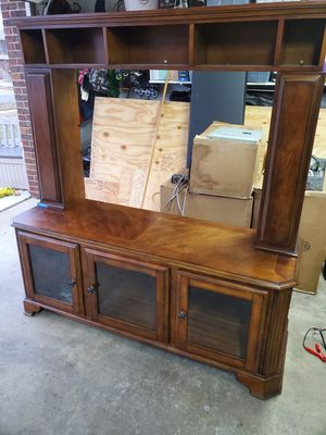 """Tv stand - can hold up to 65"""" without top part for Sale in Streamwood, IL"""