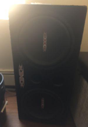 212 triple X speakers for sale HMU Asap!! for Sale in Sudbury, MA