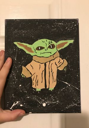 Baby yoda painting for Sale in Durham, NC