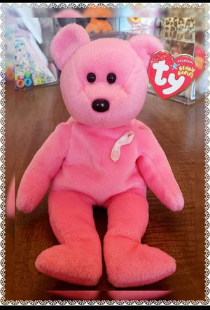 Ty Beanie Baby Aware the Breast Cancer Awareness Bear for Sale in Radcliff, KY