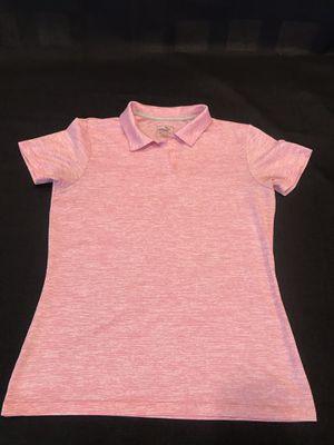 Puma- Golf women's (M) soft pink shirt for Sale in Corona, CA
