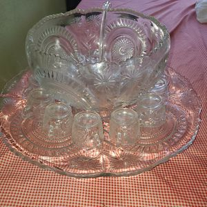Beautiful Pumchbowl With Ladle & 12 Cups for Sale in Santa Ana, CA