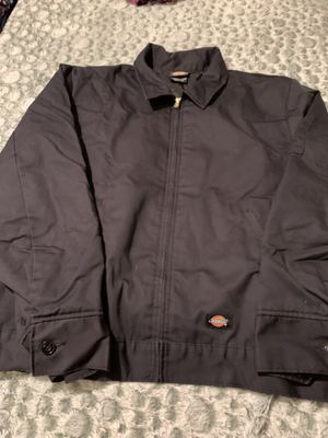 Jacket Dickies black new size XL used 2 times for Sale in Santa Fe Springs, CA