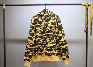 BAPE 1st Camo Shark Full Zip Yellow for Sale in Jersey City, NJ