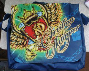 Ed Hardy/Christian Audigier Messenger Book Bag for Sale in Kyle, TX