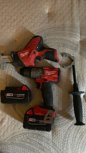 Milwaukee M18 1/2 fuel hammer drill for Sale in Lexington, MA