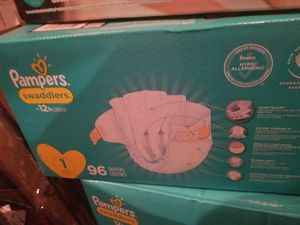 Pampers size 1 for Sale in Ontario, CA