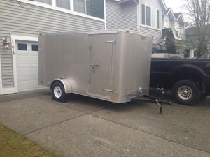 Enclosed 6x12 Trailer - Great Shape for Sale in Everett, WA