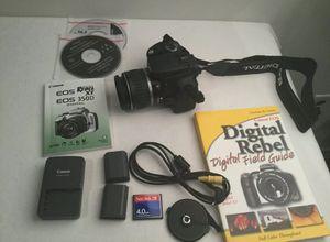 Cámara Digital canon Rebel XT 350D for Sale in Woodbridge, VA
