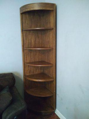Wooden 7ft corner shelf for Sale in Nashville, TN