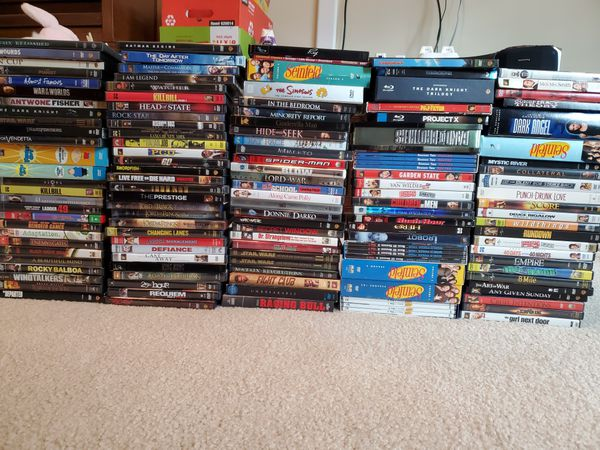 125 DVD Movies / TV shows