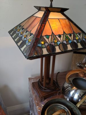 Stain glass lamps and task lighting for Sale in Washington, DC