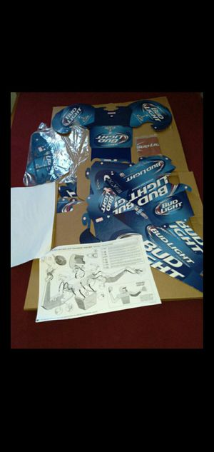 2014 BUD LIGHT SUPER BOWL QUARTERBACK CASE MAN for Sale in Wilmington, CA