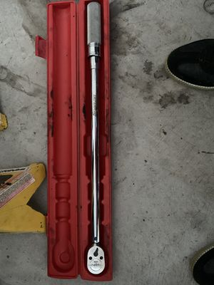 1/2 Drive SAE adjustable Torque Ratchet for Sale in Round Rock, TX