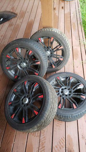 Enkei Wheels GW8 17x7 & Achilles ATR Sport Tire 225/45 ZR17 94W XL for Sale in Middle River, MD