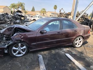 2006 Mercedes C230 for parts only. (Runs) for Sale in Modesto, CA