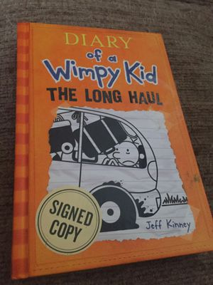 Diary of wimpy kid book for Sale in Pinetops, NC
