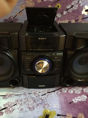 SONY Mini Hi-Fi Stereo/CD Component System MHC-EC709ip for Sale in Gaithersburg, MD