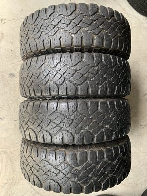 Set of used tires LT245/75/16 for Sale in Holly Springs, NC