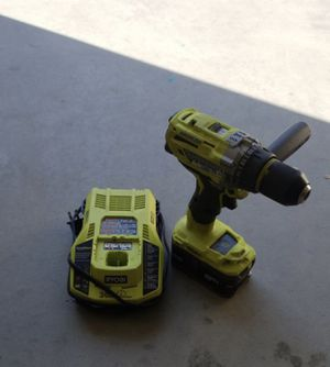 """Ryobi Brushless Hammer Drill 1/2"""" $115 for Sale in Norco, CA"""