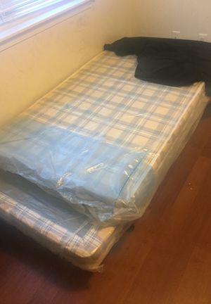 Two Twin Size Beds . 2 mattresses &' 2 Box Springs &' 2 Frames available. for Sale in Rome, NY