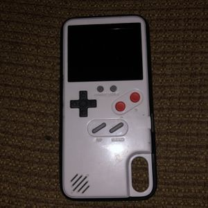 iPhone X Gameboy/Cell phone case for Sale in North Las Vegas, NV