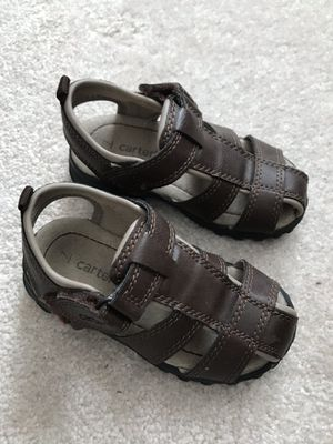 Boys sandals size 7 (toddler) for Sale in Alexandria, VA