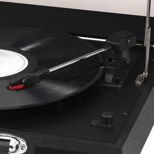 JENSEN Portable 3-Speed Stereo Turntables with Built-In Speakers, Black for Sale in Chicago, IL