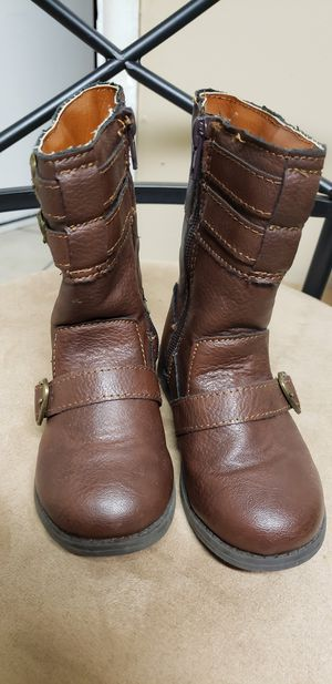 Dark Brown girl boots sz8 for Sale in Jacksonville, FL