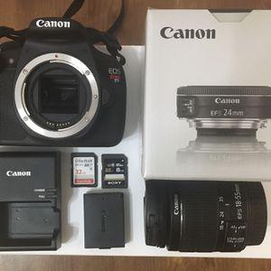 Canon EOS Rebel T5 for Sale in Norfolk, VA