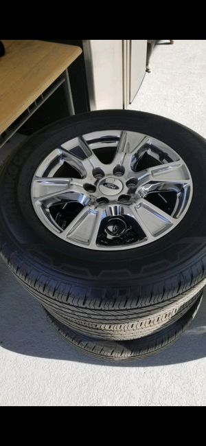2017 F150 tires and rims for Sale in Orlando, FL