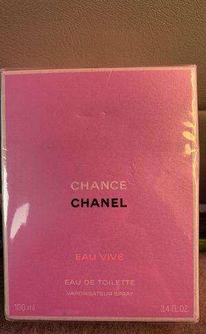 Chanel Chance EAU VIVE 3.4 FL. OZ EAU DE TOILETTE Perfume for Sale in Boston, MA