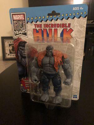 Brand New Grey Hulk Marvel 80 YRS Figure for Sale in McKinney, TX