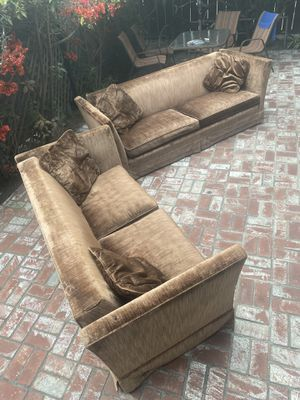 Vintage, custom-made couches! for Sale in Los Angeles, CA
