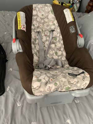 Infant car seat with base for Sale in Central, SC