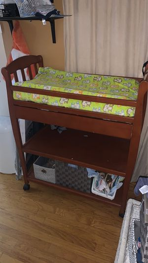 Changing table with storage for Sale in Riverside, CA