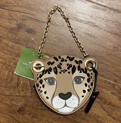 Kate spade leopard coin purse for Sale in McLean,  VA