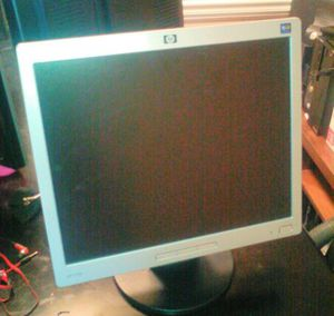 """HP L1706 17"""" monitor **PRICE REDUCED!!** for Sale in Lakeland, FL"""