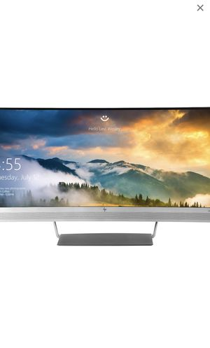 Brand new unopened HP elite display S340C 34-inch Curved Monitor for Sale in San Jose, CA