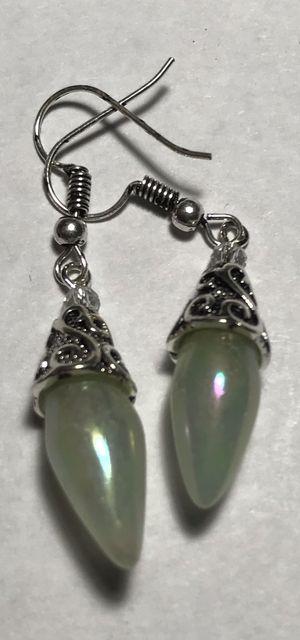 Silver moonstone earrings for Sale in Longwood, FL