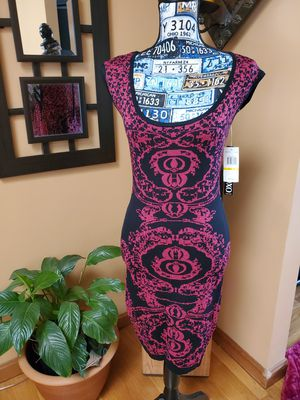 XOXO SHIMMERY RED & BLACK BODYCON DRESS! for Sale in Taunton, MA