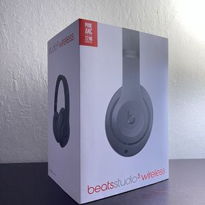 Beats Studio³ Wireless Noise Cancelling Headphones - Gray for Sale in Pleasant Hill, CA
