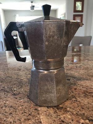 Stovetop Espresso Maker for Sale in Coconut Creek, FL
