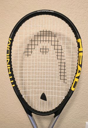 Head Tennis Racket - Titanium S1 with cover for Sale in Denver, CO